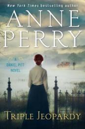 Triple jeopardy : a Daniel Pitt novel by Perry, Anne
