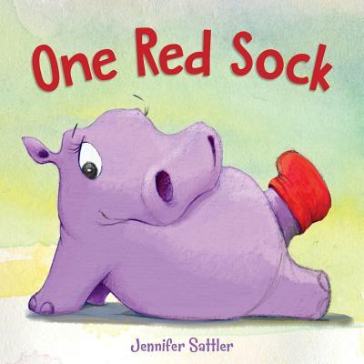 One red sock by Sattler, Jennifer Gordon