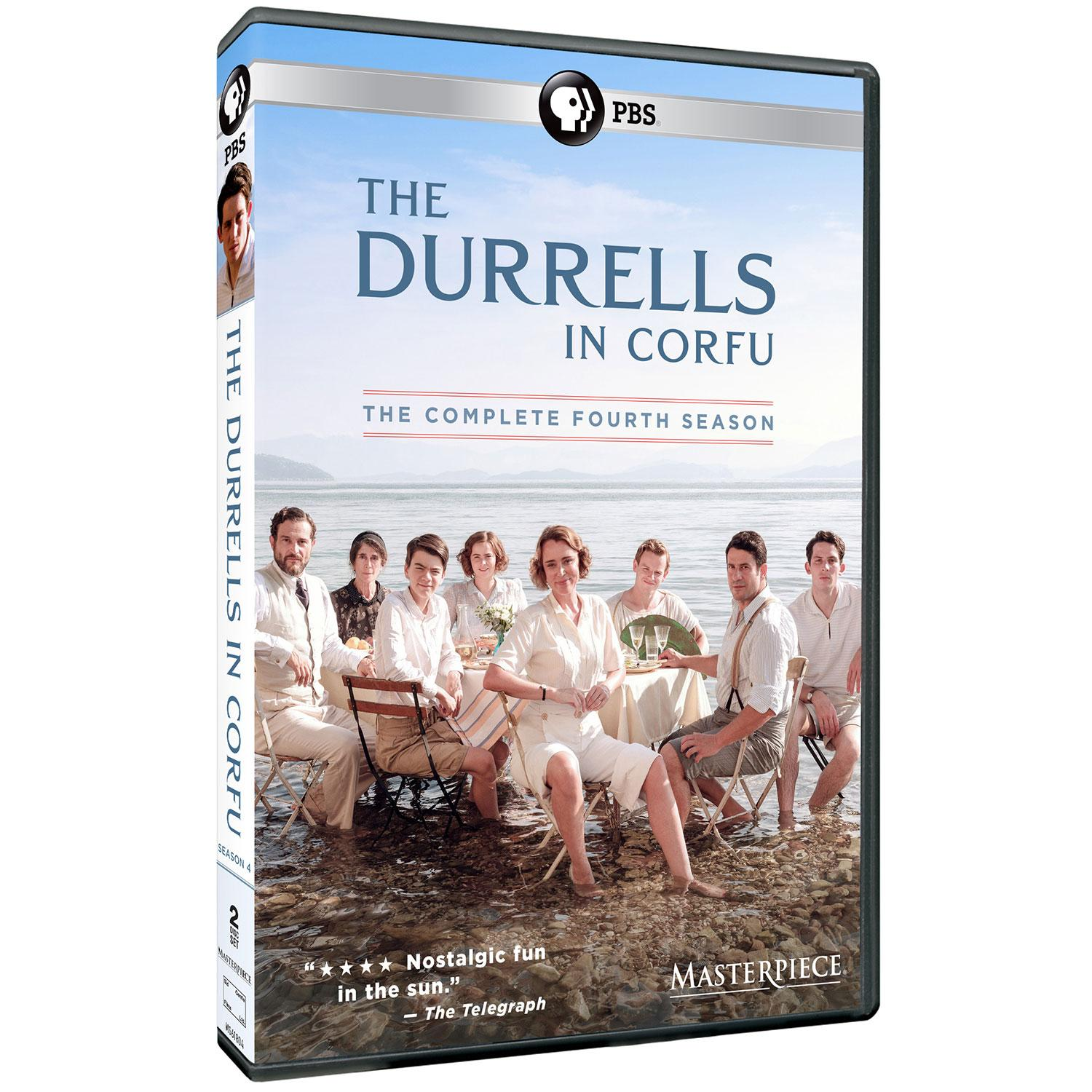 The Durrells in Corfu The complete fourth season by Hall, Christopher