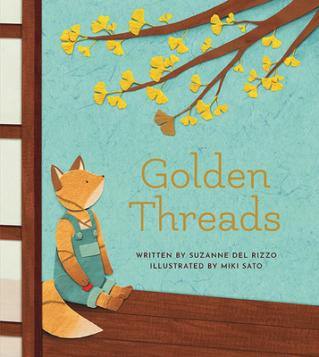 Golden threads by Del Rizzo, Suzanne