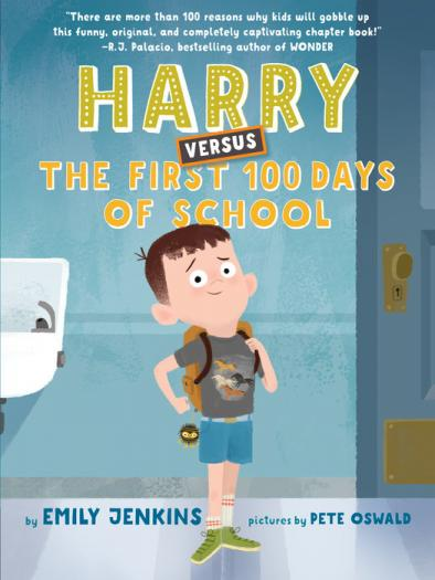 Harry versus the first 100 days of school  by Jenkins, Emily