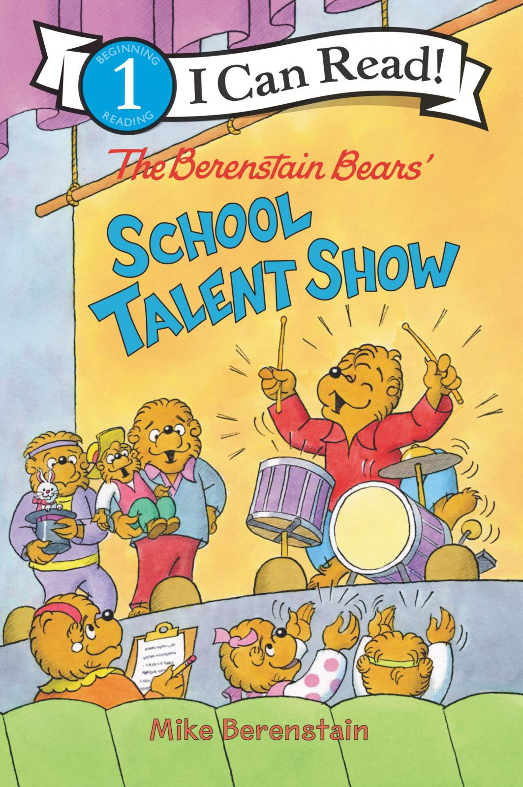 The Berenstain Bears' school talent show by Berenstain, Mike