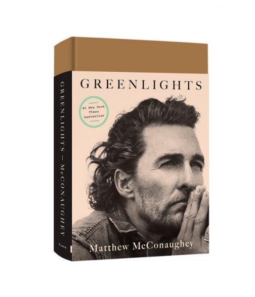 Greenlights by McConaughey, Matthew