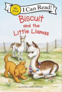 Biscuit and the little llamas  by Capucilli, Alyssa Satin