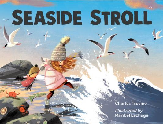 Seaside stroll by Trevino, Charles
