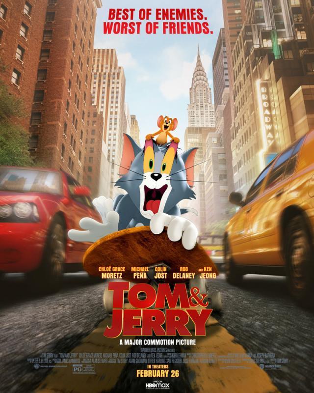 Tom & Jerry : the movie by Story, Tim