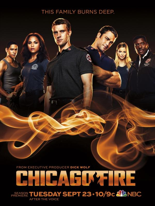 Chicago fire Season nine by Wolf, Dick