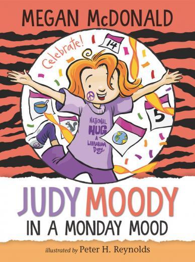 Judy Moody in a Monday mood by McDonald, Megan