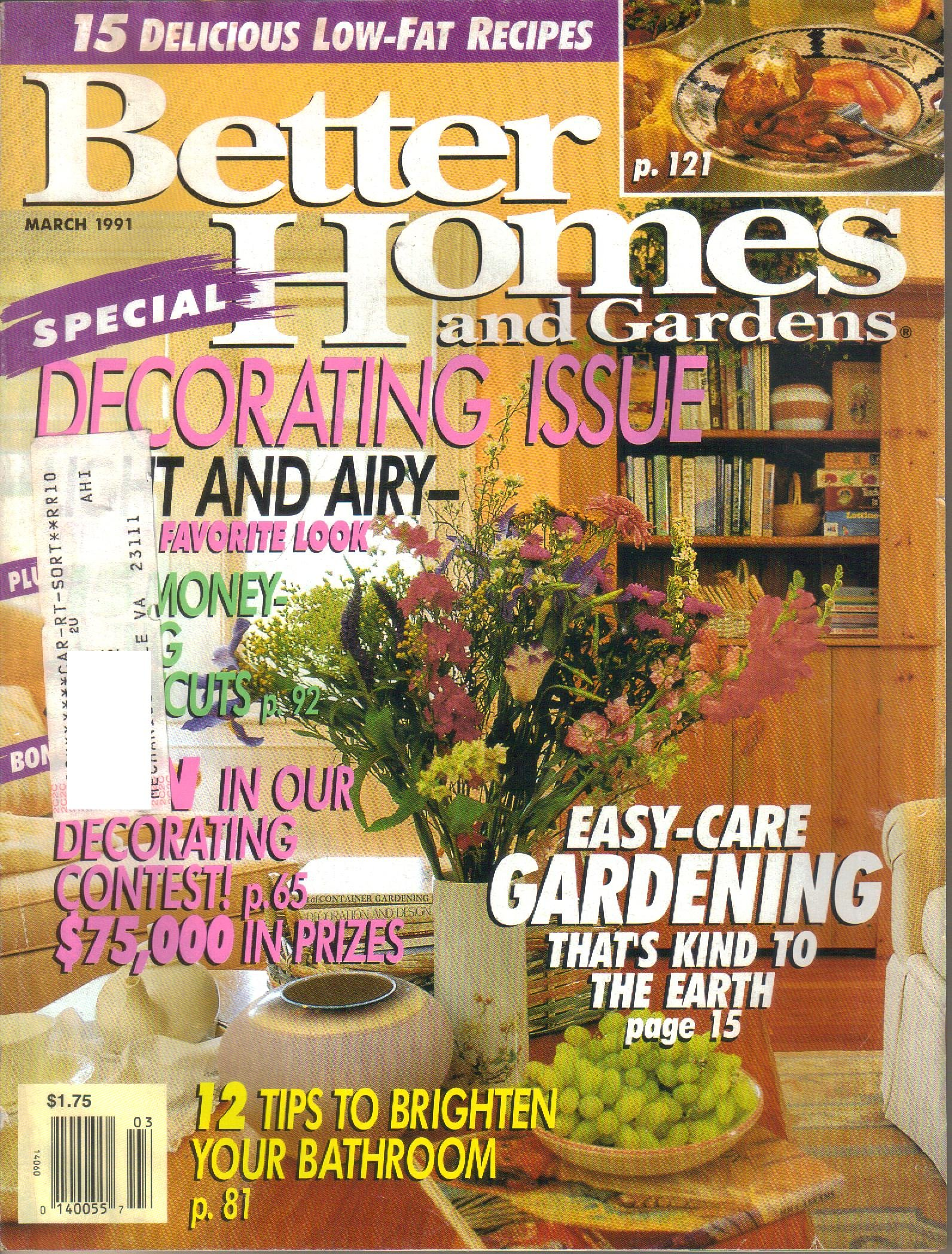 Better homes and gardens by
