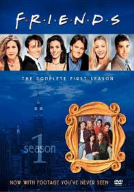 Friends : the complete first season by Aniston, Jennifer.