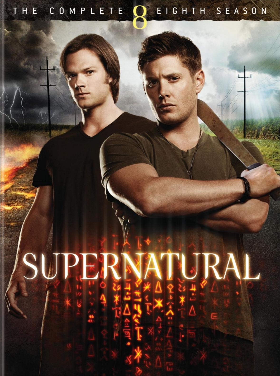 Supernatural The complete eighth season by Kripke, Eric.