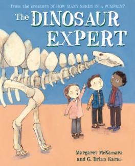 The dinosaur expert by McNamara, Margaret