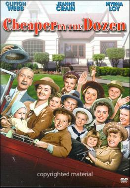 Cheaper by the dozen  by Lang, Walter